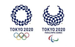Official logo for the Tokyo Olympics 2020 and Paralympic Games.