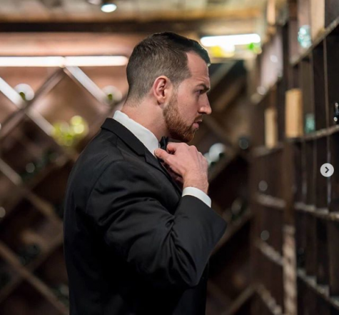 """Love Is Blind"" favorite Cameron Hamilton prepares for his wedding day."
