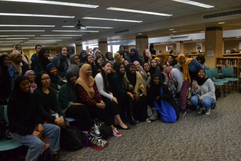 Ilhan Omar ended her visit with a group photo of all in attendence
