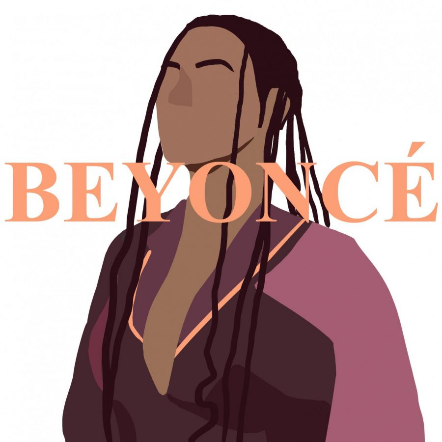 """Beyoncé continues to impress with """"Black is King"""". illustrated by Sol Schindler"""