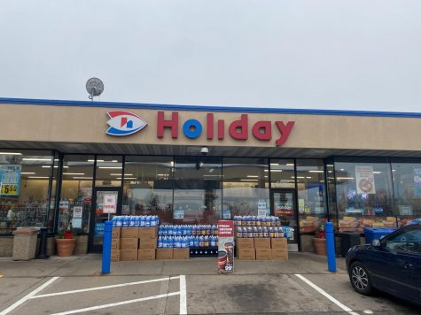 The Holiday Station Store on 57th Avenue in Fridley, like other gas stations and convenience stores in the township, will no longer be able to sell flavored tobacco products.