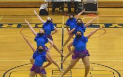 The dance team is looking forward to its final section meet, which will take place on February 27 at Chisago Lake High School, as well as next year's season.