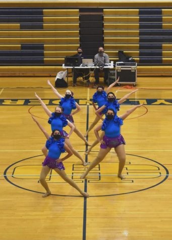 The dance team is looking forward to its final section meet, which will take place on February 27 at Chisago Lake High School, as well as next year