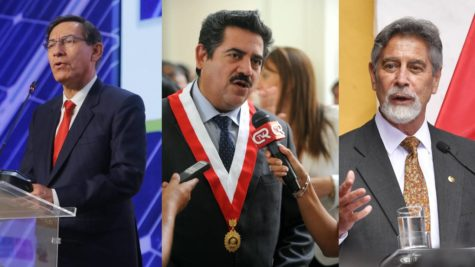 Peru has swiftly gone through three presidents, (from left to right), Martin Vizcarra, Manuel Merino and Francisco Sagasti, all in only a matter of months.