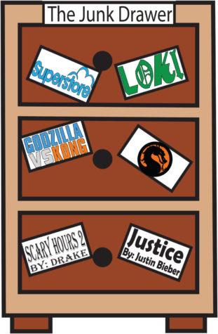 "The Junk Drawer: ""Justice"", ""Loki"", ""Godzilla vs. Kong"""