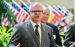 Governor Tim Walz of MInnesota has an approval rating of 65% after leading his state in the midst of the crisis.