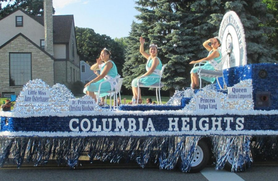 The Jamboree Queens float is just one of many that won