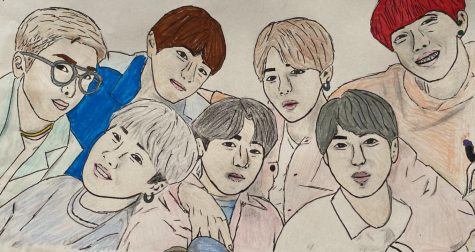 BTS members (from left to right) RM, Suga, V, Jungkook, Jimin, Jin and J-Hope preach about self-confidence and chasing after your goals to their fans.