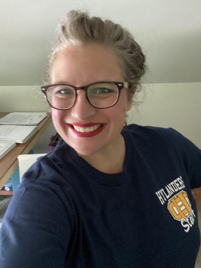 Jacquelene Bayless, new English teacher