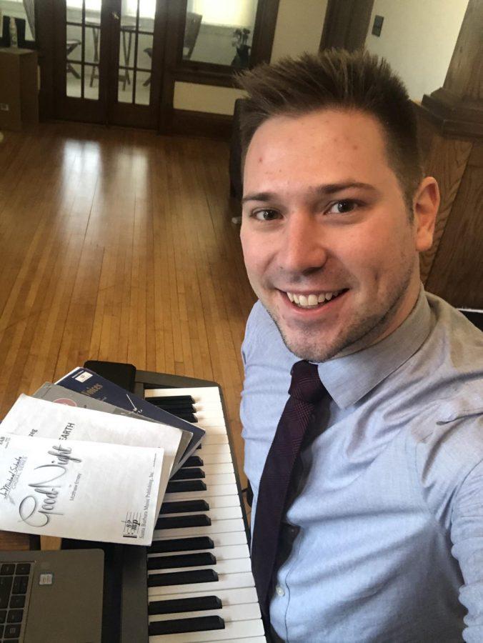 Nicholas Hollermann, new choir teacher