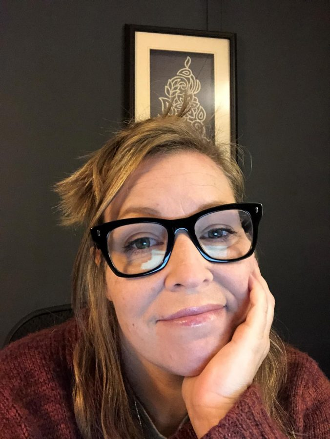 Tina Schaefer, new English teacher
