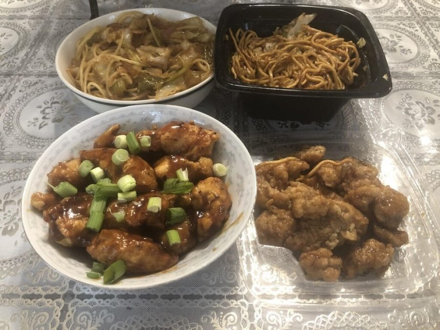 Panda+Express%27s+iconic+Orange+Chicken+and+Chow+Mein+combo+can+be+made+from+the+comfort+of+your+home.