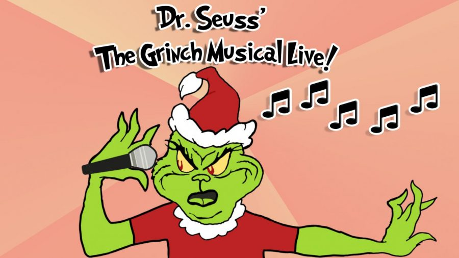 The+Grinch+steals+Christmas+yet+again%2C+but+this+time+in+a+musical+setting.