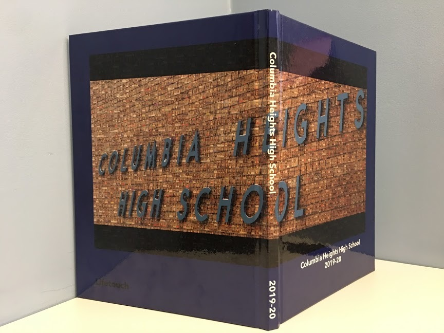 Yearbook Club's 2019 Columbia Heights High School yearbook was available for purchase and pickup this summer even in spite of the sudden switch to distance learning.