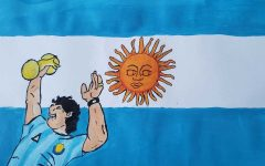 David Maradona, from Argentina, is considered to be by many, one of soccer's most popular icons.