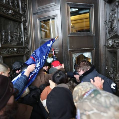 Trump supporters and white supremacists break through the doors of the capitol, leaving congresspeople fearful and citizens on edge for hours.