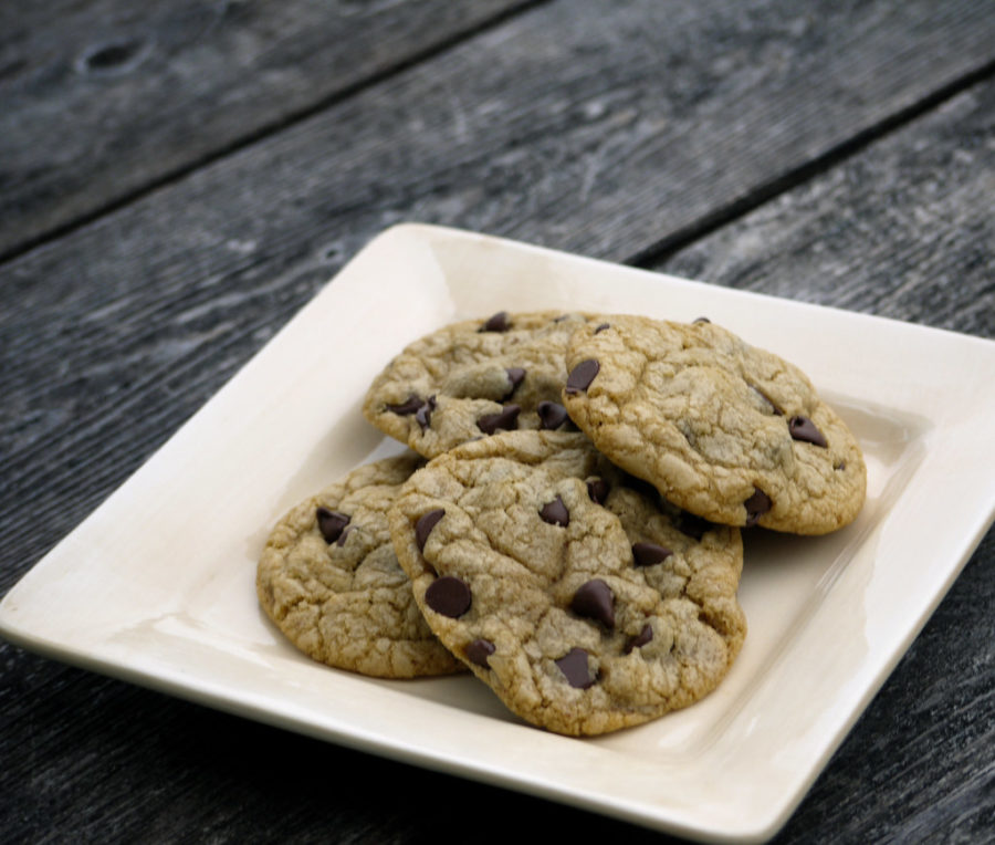 The recipe from the Best Chocolate Chip Cookie Ever experiment substituted butter and egg out in order to accommodate to those who may have allergies or dietary restrictions.